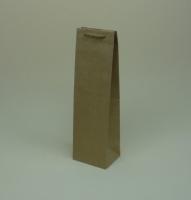 TOREBKA PAPIEROWA BEŻOWA - ROZMIAR: 11,5 x 9 x 39 cm